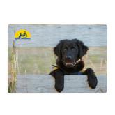 Cutting Board-Dog on Fence