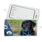 Luggage Tag-Dog with Leash