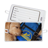 Luggage Tag-Dog Sleeping