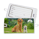 Luggage Tag-Big Dog with Puppy