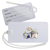 Luggage Tag-Two Puppies