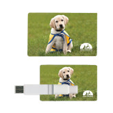 Card USB Drive 4GB-Gold Puppy