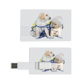 Card USB Drive 4GB-Two Puppies