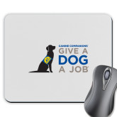Full Color Mousepad-Give a Dog a Job