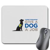 Full Color Mousepad-Give a Dog a Job
