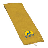 Gold Golf Towel-