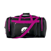 Black With Pink Gear Bag-