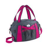 Graphite/Pink Duffel Bag-