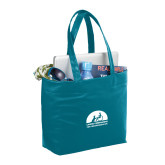 Fine Society Teal Computer Tote-