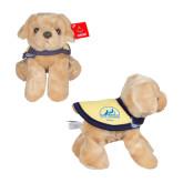 Large Golden Plush Pup w/ Cape-