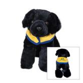 Black Plush Pup-