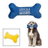 Plush Bone Dog Toy-