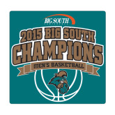 Medium Decal-Big South Basketball Champions 2015, 8 in W