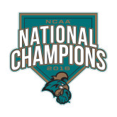 Medium Decal-2016 NCAA National Champions Baseball