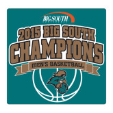 Large Decal-Big South Basketball Champions 2015, 12 in W