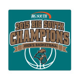 Small Decal-Big South Basketball Champions 2015, 6 in W