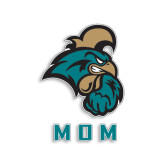 Mom Decal-Mom, 6 in W