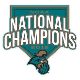 Extra Large Decal-2016 NCAA National Champions Baseball