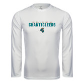 Syntrel Performance White Longsleeve Shirt-Coastal Carolina Chanticleers