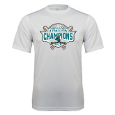 Performance White Tee-2016 NCAA Baseball National Champions
