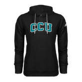 Adidas Climawarm Black Team Issue Hoodie-Arched CCU