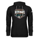 Adidas Climawarm Black Team Issue Hoodie-Coastal Rising - Sun Belt Conference