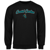 Champion Black Fleece Crew-Coastal Carolina Arched