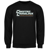 Champion Black Fleece Crew-Coastal Carolina Chanticleers