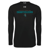Under Armour Black Long Sleeve Tech Tee-Coastal Carolina Chanticleers