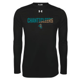 Under Armour Black Long Sleeve Tech Tee-Chanticleers Two Tone