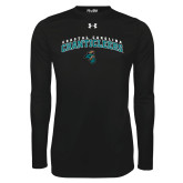 Under Armour Black Long Sleeve Tech Tee-Coastal Carolina Chanticleers Arched