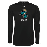 Under Armour Black Long Sleeve Tech Tee-Dad