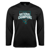 Syntrel Performance Black Longsleeve Shirt-2016 NCAA National Champions Baseball