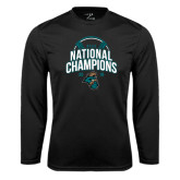 Performance Black Longsleeve Shirt-2016 NCAA College World Series Baseball Champions