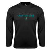 Syntrel Performance Black Longsleeve Shirt-Coastal Carolina Chanticleers