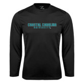 Syntrel Performance Black Longsleeve Shirt-Coastal Carolina University