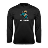 Syntrel Performance Black Longsleeve Shirt-Alumni
