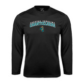 Syntrel Performance Black Longsleeve Shirt-Coastal Carolina Chanticleers Arched