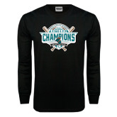 Black Long Sleeve TShirt-2016 NCAA Baseball National Champions