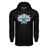 Under Armour Black Performance Sweats Team Hoodie-2016 NCAA Baseball National Champions