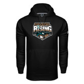 Under Armour Black Performance Sweats Team Hoodie-Coastal Rising - Sun Belt Conference
