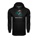 Under Armour Black Performance Sweats Team Hoodie-Baseball