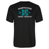 Syntrel Performance Black Tee-Cross Country Design