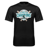 Performance Black Tee-2016 NCAA Baseball National Champions