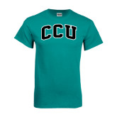 Teal T Shirt-Arched CCU