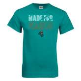 Teal T Shirt-Made for March
