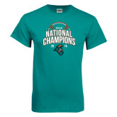 Teal T Shirt-2016 NCAA College World Series Baseball Champions