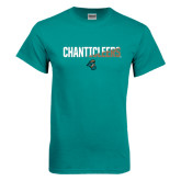 Teal T Shirt-Chanticleers Two Tone