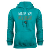 Teal Fleece Hoodie-Made for March