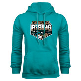 Russell DriPower Teal Fleece Hoodie-Coastal Rising - Sun Belt Conference